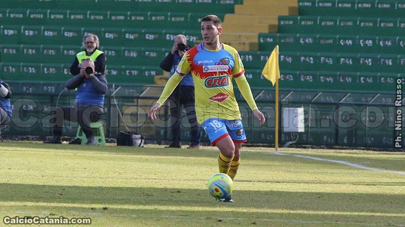 Francesco Salandria in azione a Terni