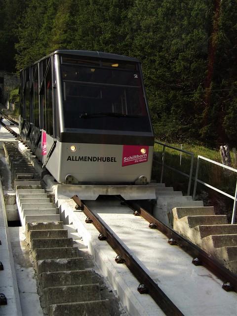Funicular to Allmendhubel