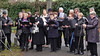 Der Kirchenchor der Heimatortsgemeinschaft Neupanat sang drei Russlandlieder, die während der Verbannung getextet und gesungen wurden