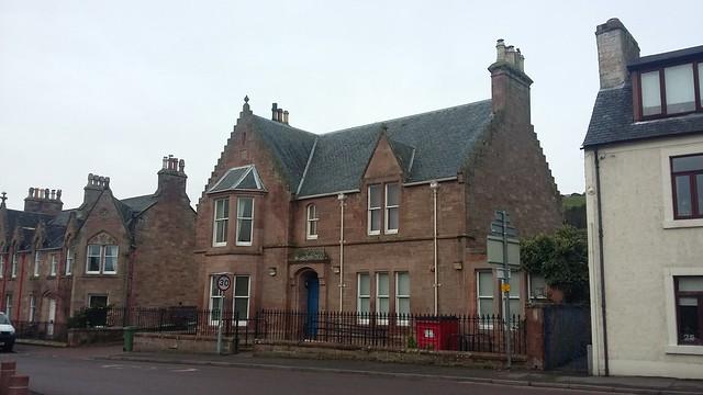 Former Bank of Scotland, Fortrose, Black Isle, Jan 2020