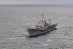 In this file photo, USS Blue Ridge (LCC 19) operates in the Philippine Sea in January. (U.S. Navy/MC1 Chris Krucke)