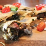 Steak and Feta Quesadillas