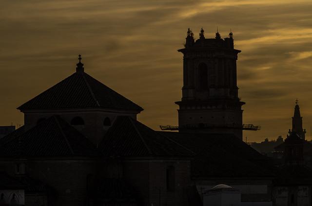 Iglesia de San Pablo  y Santo Domingo de Écija. Andalucía, España