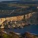 Cross section - cliffs at Il-Bajja tac-Cumnija, Malta