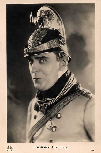 Harry Liedtke in Dragonerliebchen (1928)