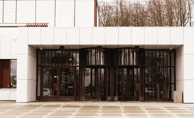 Main entrance to Kunsten Museum of Modern Art Aalborg