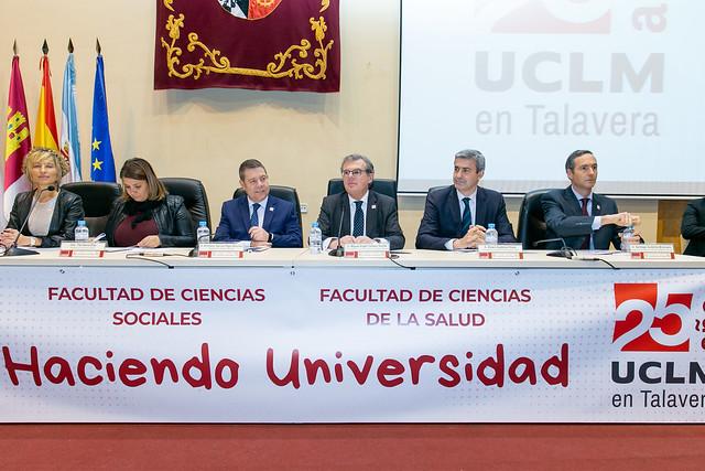25 aniversario de la Universidad de Castilla-La Mancha en Talavera de la Reina