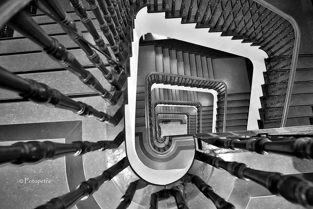 Slomann Haus Hamburg Treppe