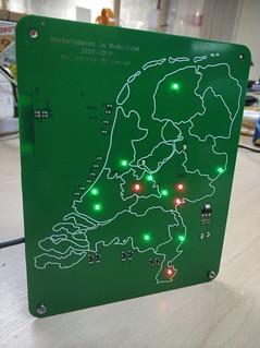 Netherlands space API badge.