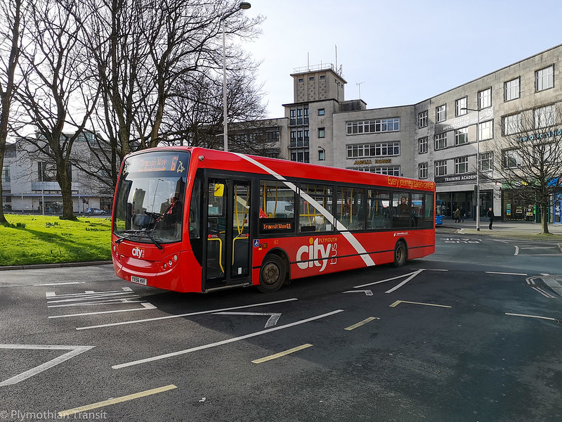 Plymouth Citybus 162 YX56HVF