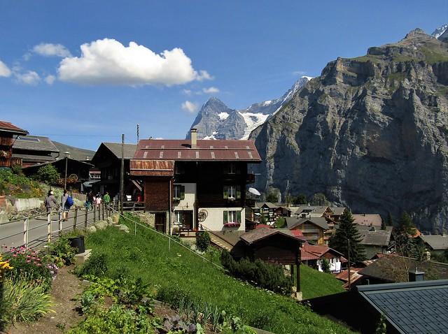 Mürren in Switzerland