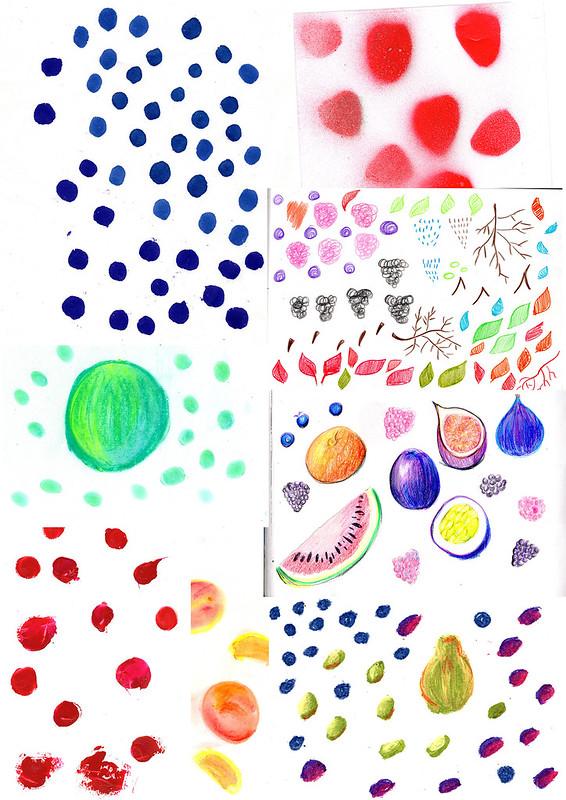 OCA fruit textures