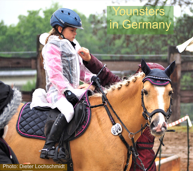Horse Show also with Youngsters in Ingelheim, Germany - it was a Rainy Day