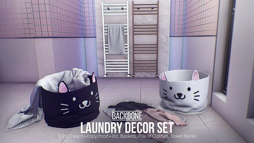 BackBone Laundry Decor Set - Group Gift