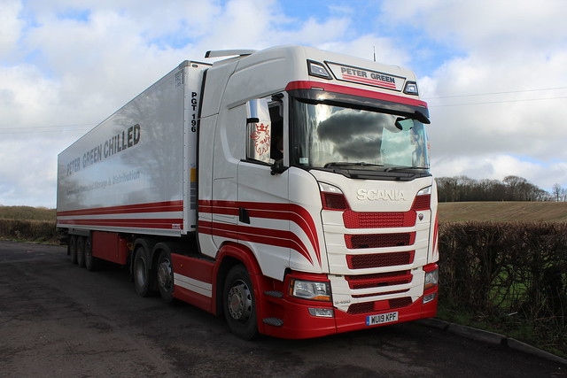 Scania S450 - Peter Green Chilled