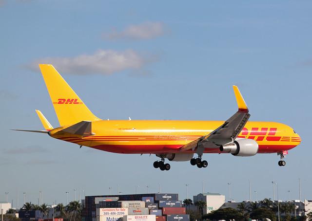 HP-3310DAE Boeing 767-304ER DHL Aero Expreso