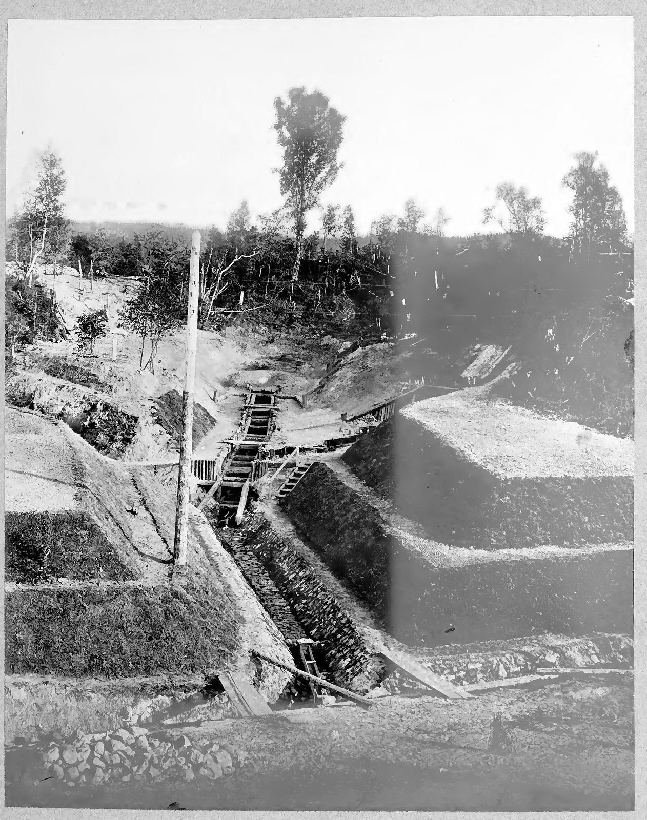 54. Прокладка дренажных канав
