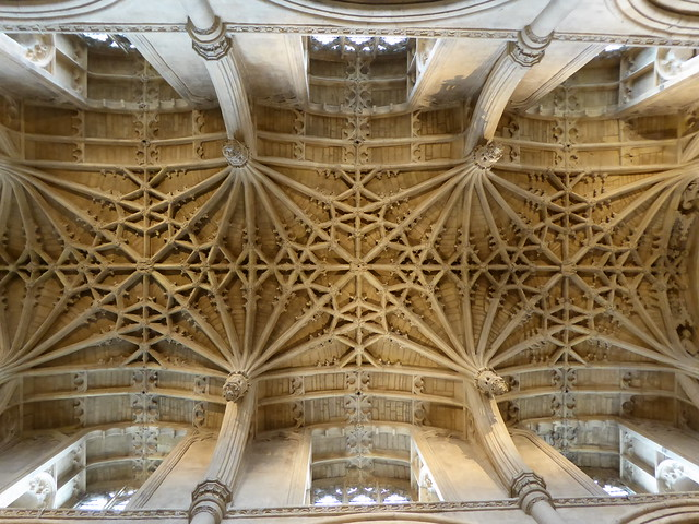 Choir Vaulting, Oxford Cathedral