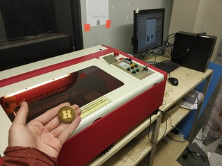 Paul's upgraded the laser cutter!