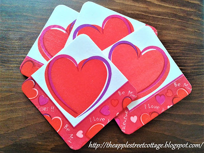 valentines day coasters