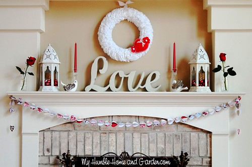 Valentine-Mantel-Display