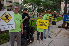 Hawaiian Electric at Save the Streets — Jan. 23, 2020: We had various signs that reminded people of safe driving habits.