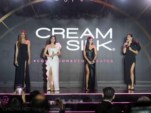 creamsilk conditioned for greater Pia Wurtzbach Heart Evangelista Nadine Lustre Catriona Gray