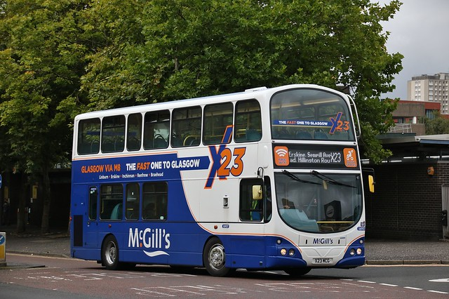 McGill's of Greenock X23 MCG (I6907) | Route X23 | Killermont St (Buchanan Bus Station), City Centre