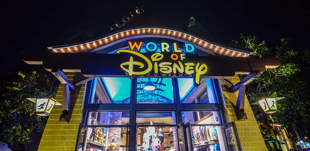World of Disney outside DTD DL
