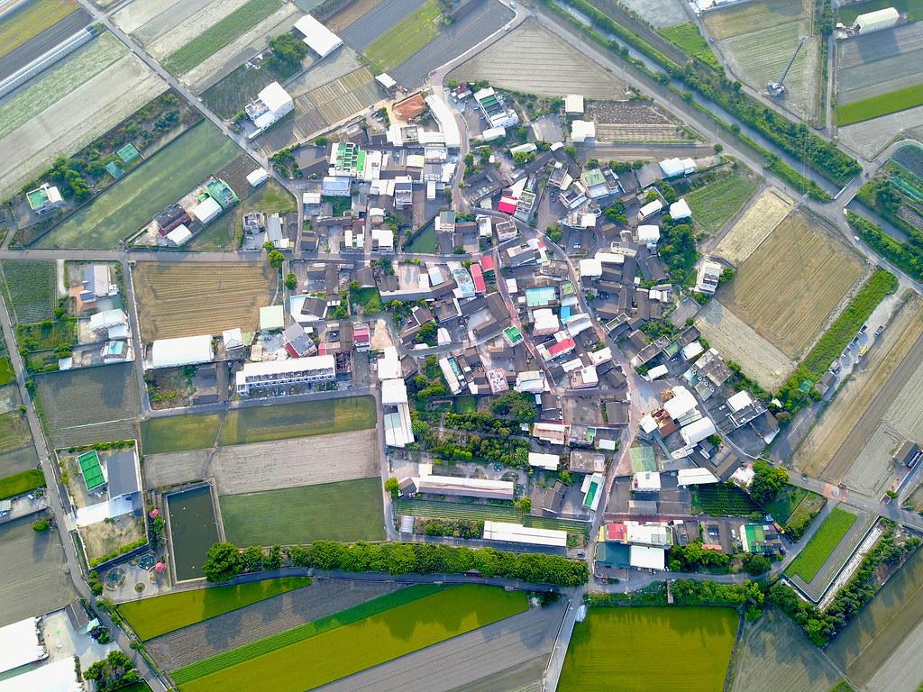 史無前例的縣市國土審議即將登場。圖為雲林縣虎尾鎮空拍。圖片來源:eshensh(CC BY-NC-ND 2.0)