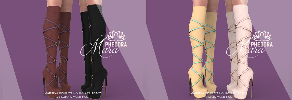 "Phedora. for Kinky Event​ ~ ""Mara"" Boots ♥"