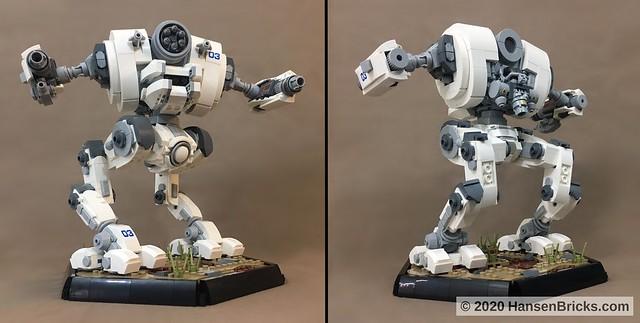 Battletech (Mechwarrior) Uziel Combo