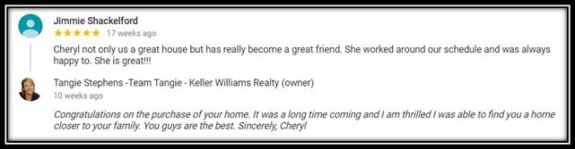 Cheryl Review 2