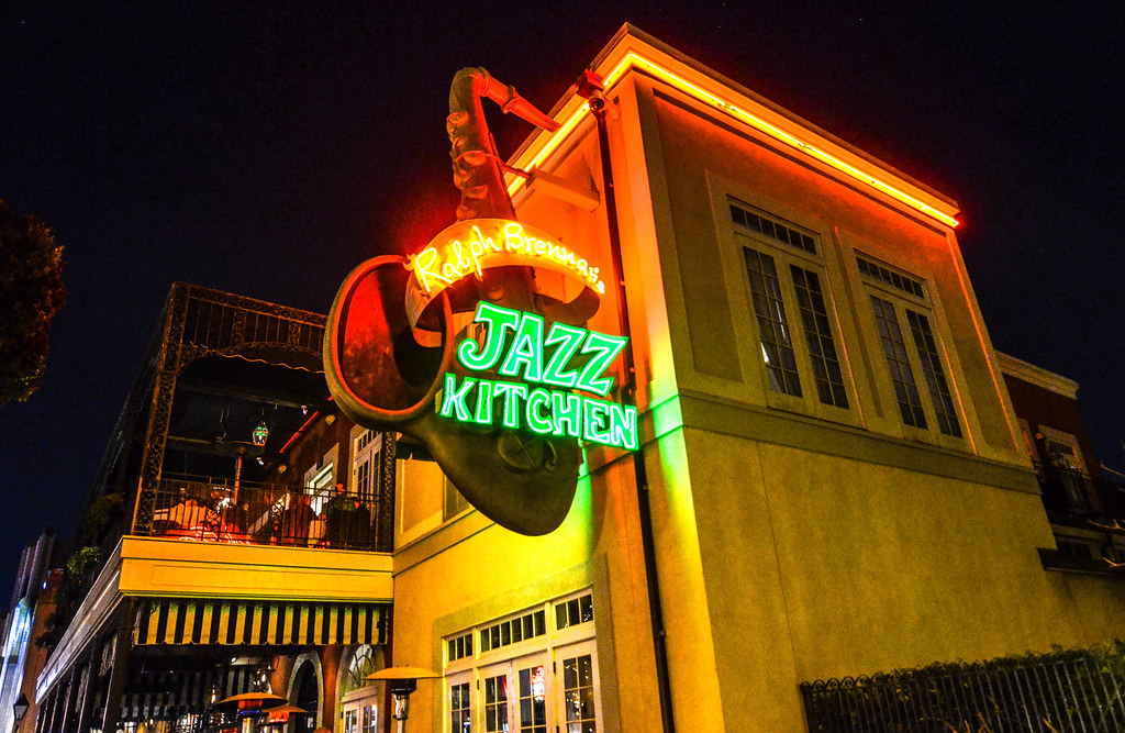 Ralph Brennan's Jazz Kitchen outside DTD DL