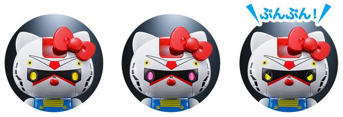 超合金《機動戰士鋼彈》x HELLO KITTY 「RX-78-2 鋼彈、夏亞專用薩克II」登場!(ガンダム★ハローキティ&シャア専用ザクII★ハローキティ)
