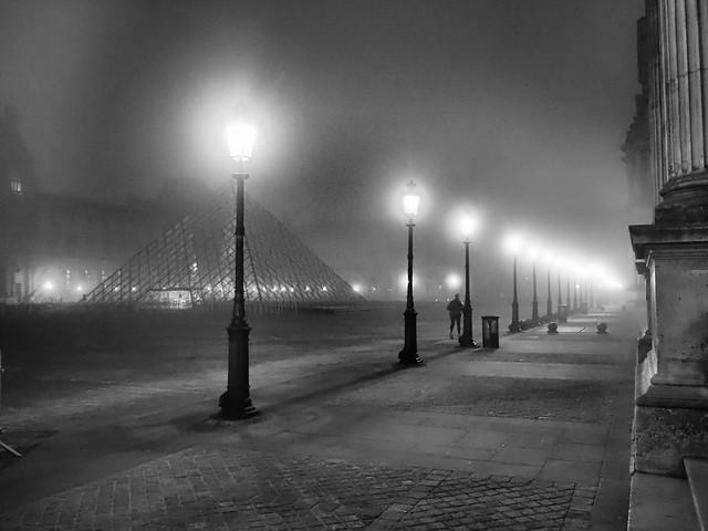 Foggy Louvre