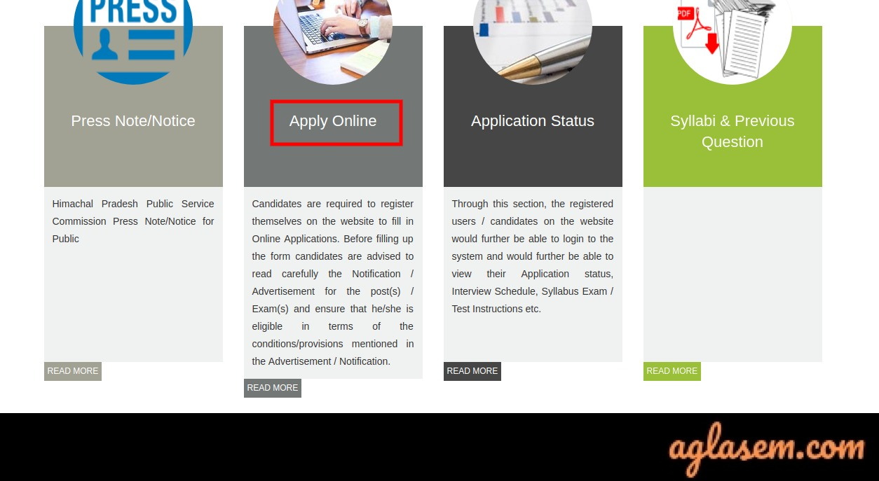 How to Fill Up HPPSC HPAS Online Application Form 2020?