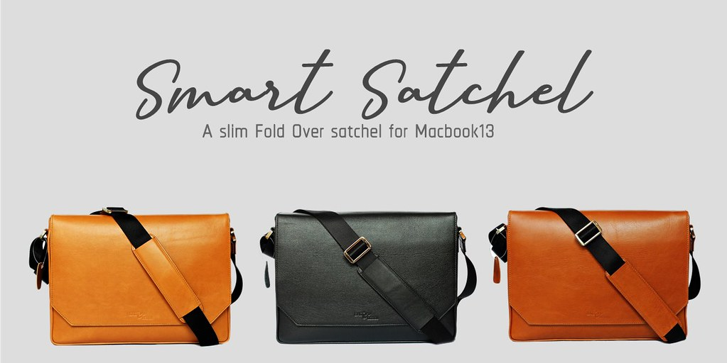 smart satchel bag for macbook