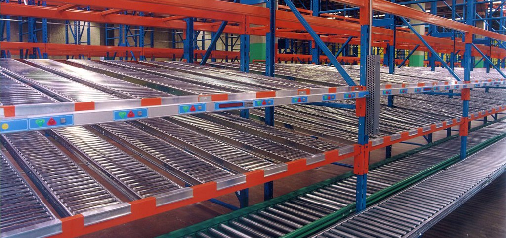 Push Back Racking Konstant Your Racking Source Canada