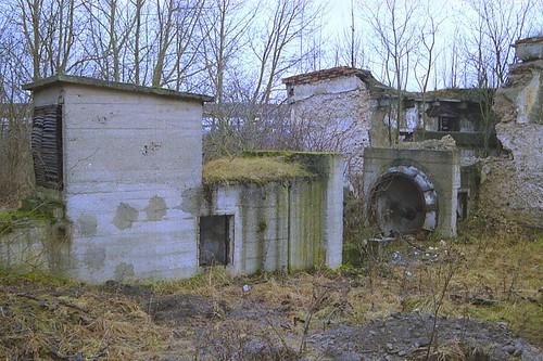 Uraanikaevanduse ventilaator / Mine fan of Uranium mine in Estonia