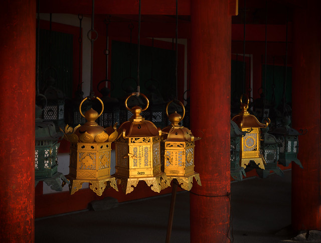 Shrine lanterns