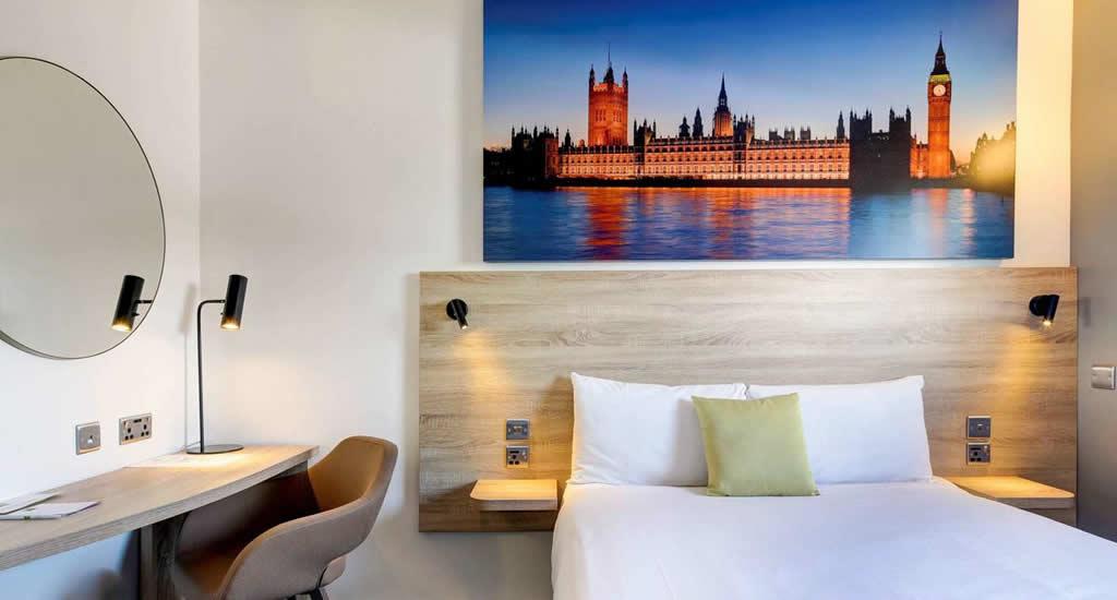 Goedkope hotels Londen: Ibis Styles Hotel | Mooistestedentrips.nl