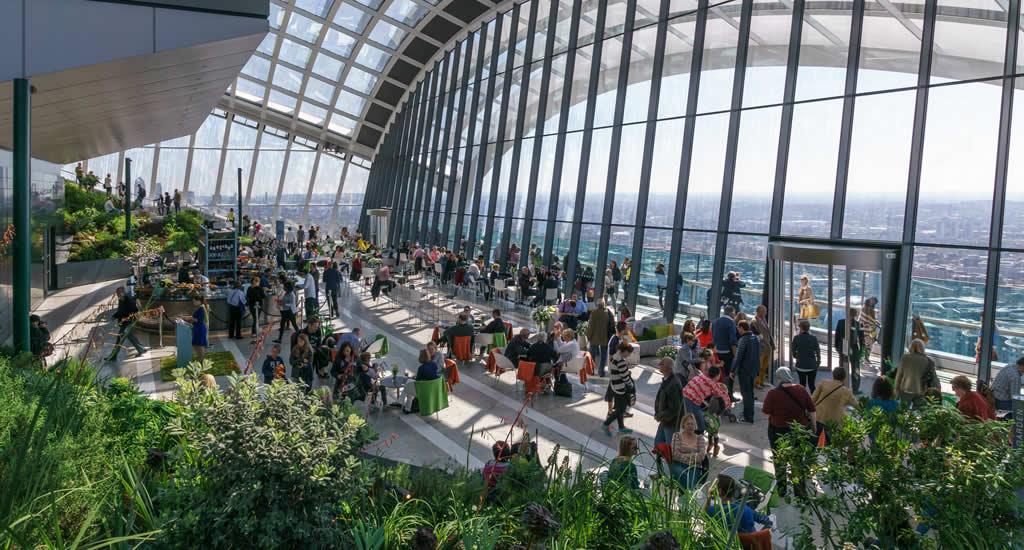 Sky Garden, Londen | Mooistestedentrips.nl
