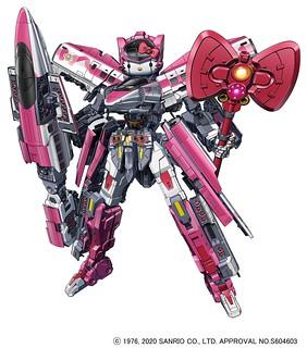 最可愛的祕密兵器爆誕!『新幹線變形機器人』x『Hello Kitty』合作商品 DXS Shinkalion Hello Kitty(シンカリオン ハローキティ)