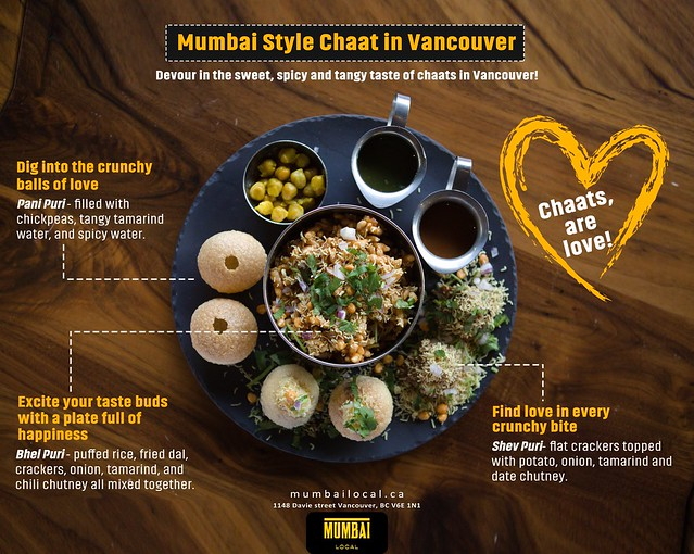 Mumbai Style Chaat in Vancouver