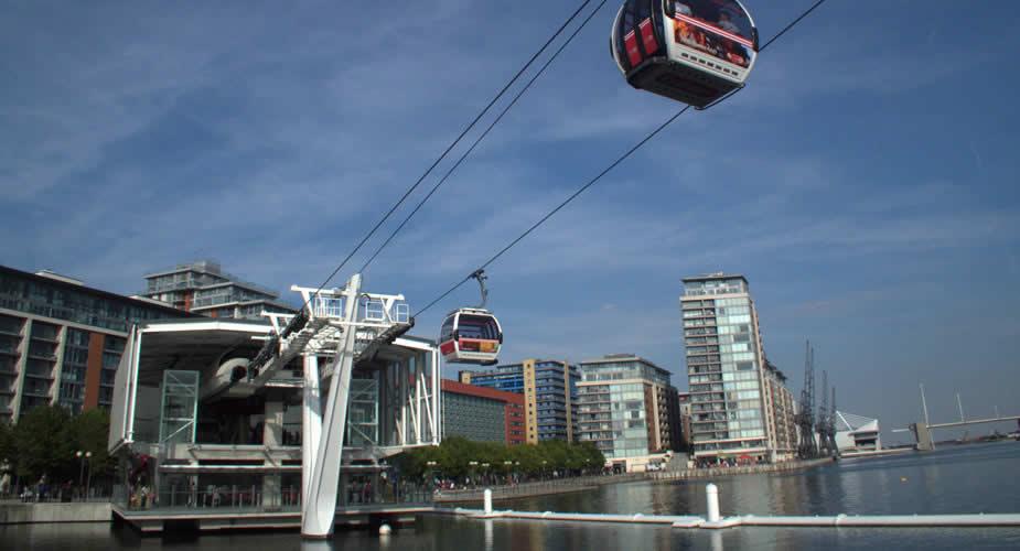 Londen: kabelbaan over de Thames | Mooistestedentrips.nl
