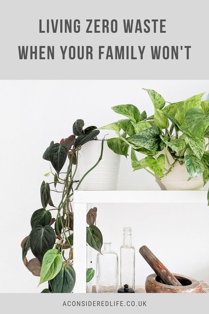 Living Zero Waste When Your Family Doesn't Want To