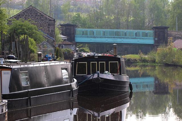 Canal Moorings.