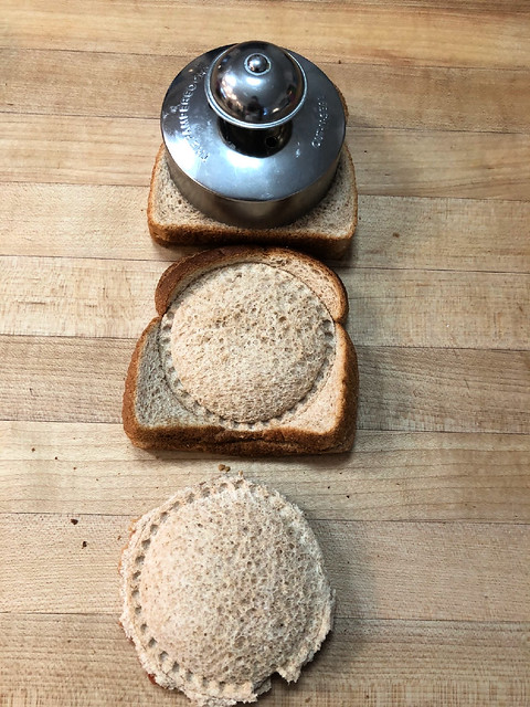 making sandwiches