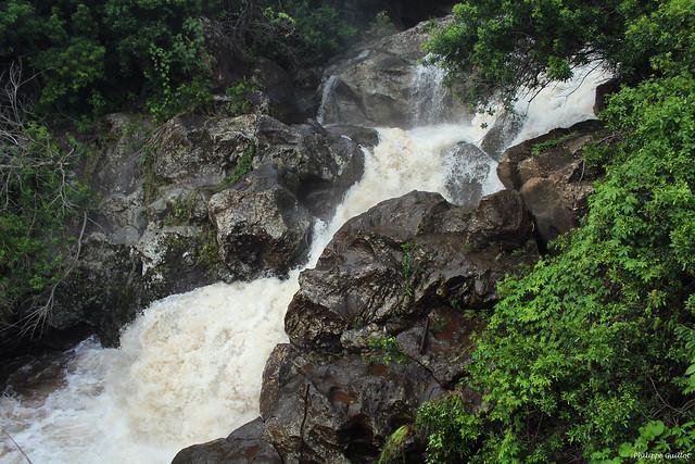 La Ravine de Petite-Île en furie